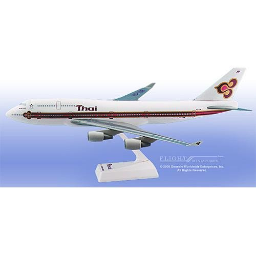 Flight Miniatures - Thai 747-400 (1:200)