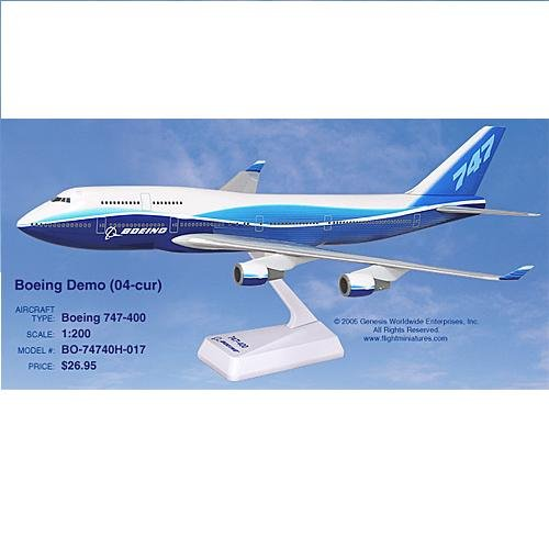 "Flight Miniatures - Boeing 747-400 ""Dreamliner"" (1:200)"