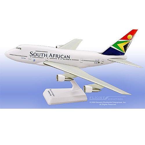 Flight Miniatures - South African 747SP (1:200)