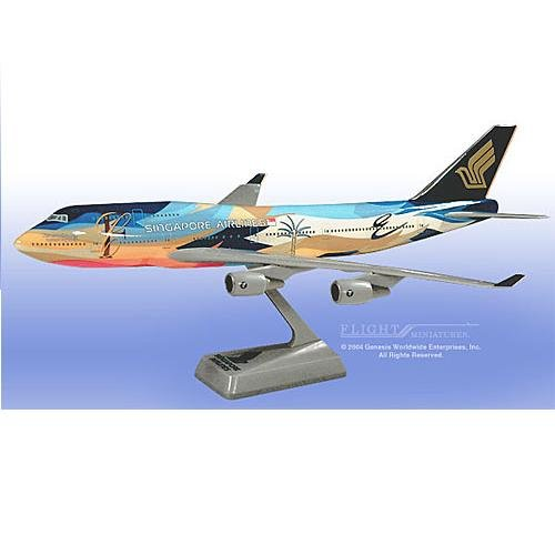 "Flight Miniatures - Singapore 747-400 ""Tropical"" (1:200)"