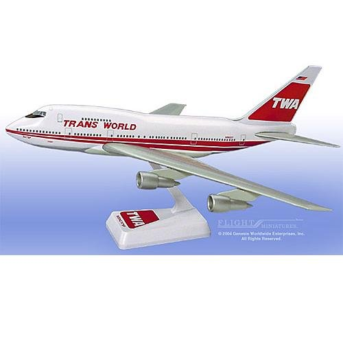 Flight Miniatures - TWA 747SP Interim Colors (1:200)