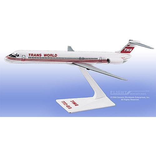 Flight Miniatures - TWA MD-80 Interim Colors (1:200)