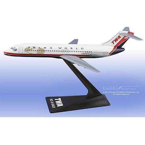 Flight Miniatures - TWA DC-9 (New Colors) (1:200)