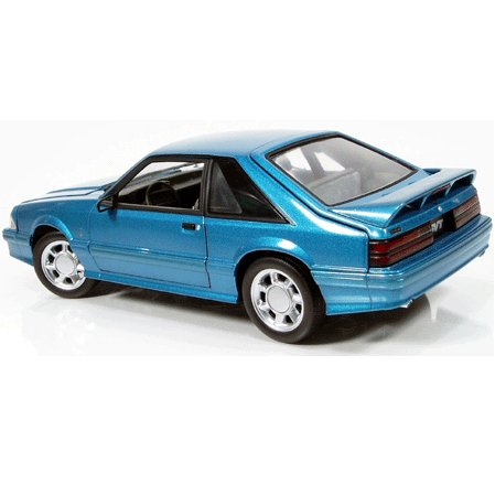 1993 Teal Mustang Cobra 1/18 Diecast Car Limited Edition