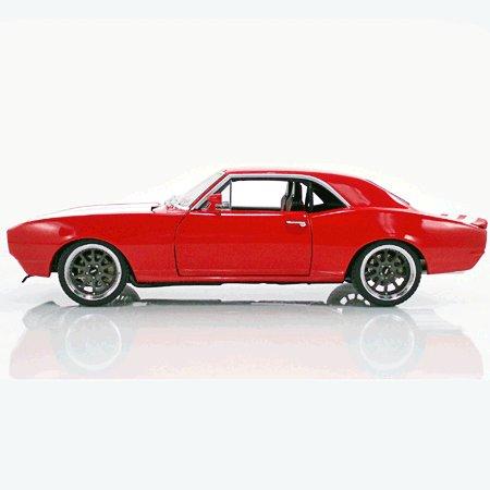 1967 Street Fighter Red Camaro 1/18 Diecast Car