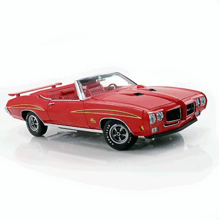1970 Cardinal Red GTO Judge Convertible 1/18 Diecast Car Limited Edition By GMP -G1801216