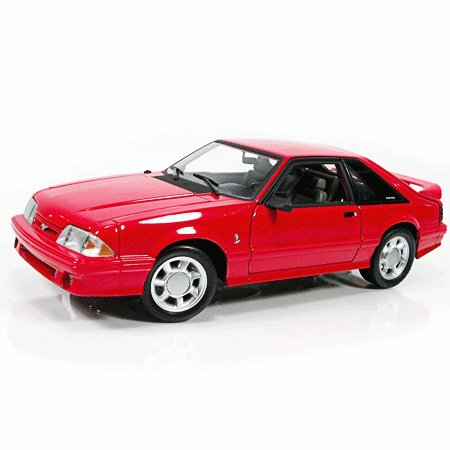 1993 Red Mustang Cobra 1/18 Diecast Car Limited Edition By GMP -G1801814