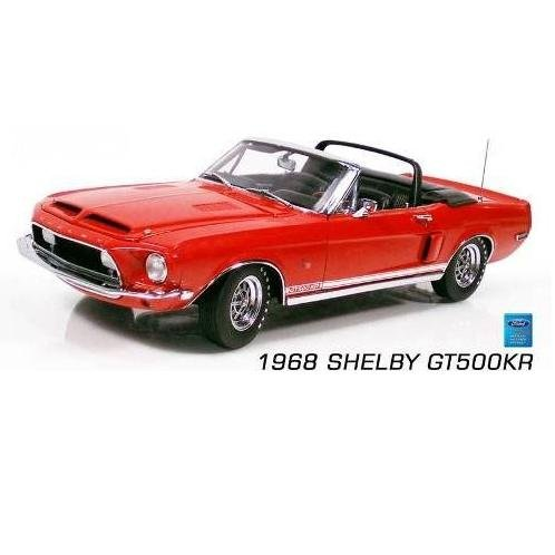 1968 Red Mustang Shelby GT 500KR Convertible 1/24 Diecast Car Limited Edition By GMP -G2403202