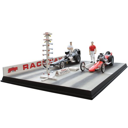 Drag Strip Diorama By GMP -G1800130