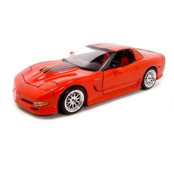 Maisto Specter Werkes Corvette Z06 Red 1:18 Diecast Model