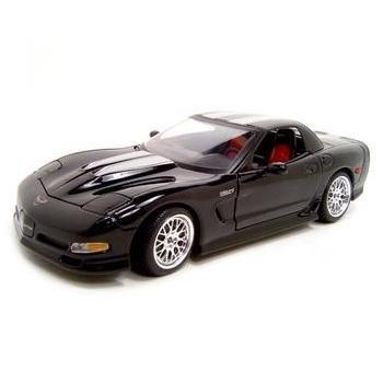 Maisto Specter Werkes Corvette Z06 Black 1:18 Diecast Model