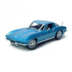 Maisto 1965 Chevrolet Corvette - Blue - 1/18 Diecast Model