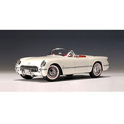 Auto Art 1953 Polo White Corvette 1/18 Diecast Car