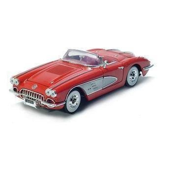 Motormax 1961 Corvette - Red - 1/18 Diecast Model