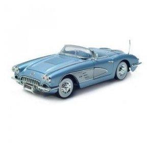 Motormax 1961 Corvette - Blue - 1/18 Diecast Model