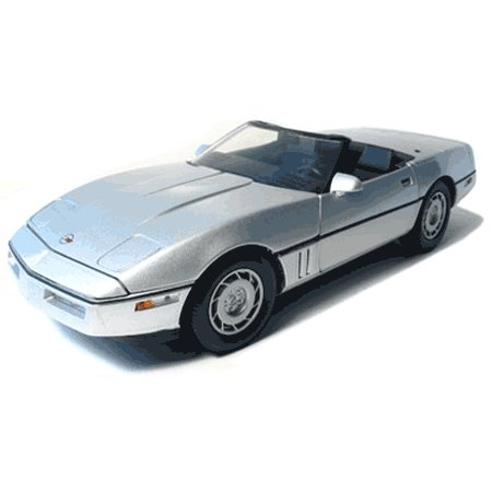 1986 Silver 1/18 Convertible Corvette GreenLight, LLC