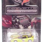 2005 Yellow/Black Coupe Corvette Daytona 500 1/64 Pace Car C6 Corvette Collection Series