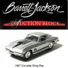 "1967 ""The Last Sting Ray"" 1/64 Corvette in Barrett-Jackson Packaging"