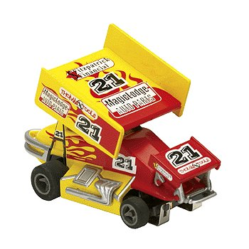#21 Renegade Racer Electric Slot Sprint Car Life-Like Products -433-9847