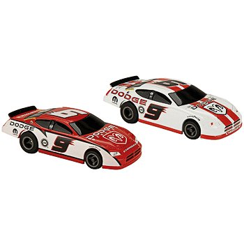 #9 Kasey Kahne Dodge Dealers Twin Pack Electric Slot Cars Life-Like Products -433-9042