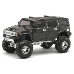 Gunmetal Gray H2 Hummer 1/24 Diecast SUV