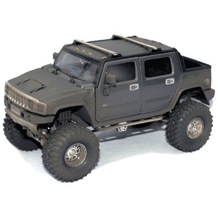 Gunmetal Gray H2 Hummer 1/24 Diecast SUT  -Dusty Version