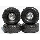 "Universal IROK Super Swampers ""Stealth Black"" 1/24 Tire Set"