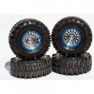 "Universal TSL Boggers ""True Blue"" 1/24 Tire Set"