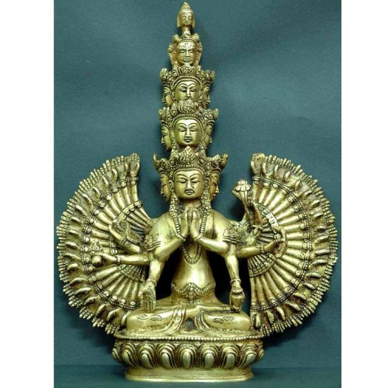 Eleven Headed Avalokiteshvara