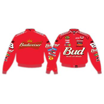 #8 Dale Earnhardt Jr. Red Bud Twill Uniform Racing Jacket