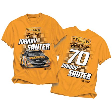 "#70 Johnny Sauter Orange ""Yellow Racing"" Tee"