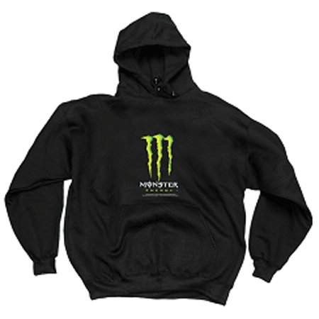 #7 Robby Gordon Monster Energy Black Hoodie