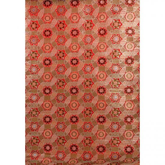 Red Kaleidoscope Fabric