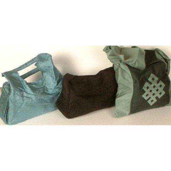 Assorted Lot of Three Handbags from Banaras