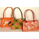Assorted Lot of Three Shantinekatan Bags