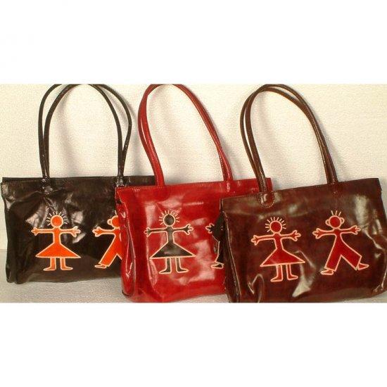 Lot of Three Double Handle Shantinekatan Bags