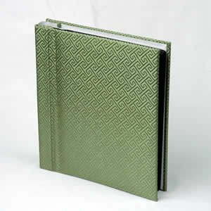 Silk Covered Photo Album - Sage