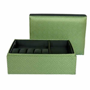 Clark Jewelry Box - Sage Green
