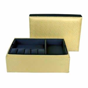 Clark Jewelry Box - Gold
