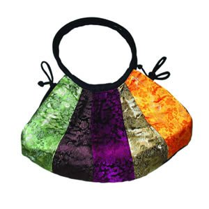 Silk Bag - Patchwork Tote Bag