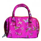 Silk Butterfly Bag - Fuchsia
