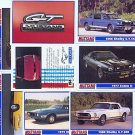 FORD FORDS MUSTANG MUSTANGS BOSS COBRA SHELBY MACH GT SVO COLLECTOR CAR CARS CARDS SET