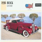 1936 36 BUICK CENTURY CONVERTIBLE COUPE COLLECTIBLE