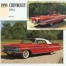 1959 59 CHEVY CHEVROLET IMPALA CONVERTIBLE COLLECTIBLE