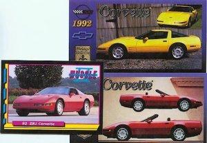 1992 92 CHEVY CORVETTE VETTE VETTES COLLECTOR