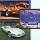 1988 88 CHEVROLET CHEVY CORVETTE VETTE VETTES COLLECTOR