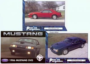 1986 86 FORD MUSTANG SVO TURBO 2.3L COLLECTOR