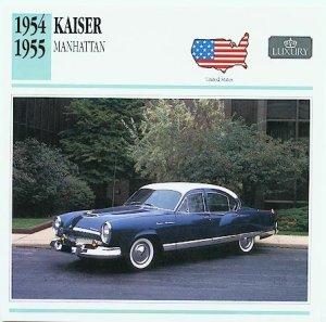 1954 54 KAISER MANHATTAN COLLECTIBLE COLLECTOR