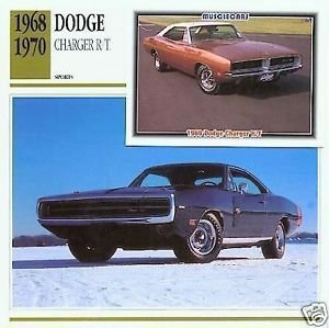 1970 70 DODGE CHARGER R/T RT MOPAR COLLECTOR COLLECTIBLE