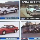 1985 85 FORD MUSTANG GT CONVERTIBLE COLLECTOR MUSTANGS